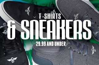 T-Shirts & Sneakers