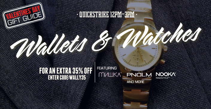 Watches and Wallets