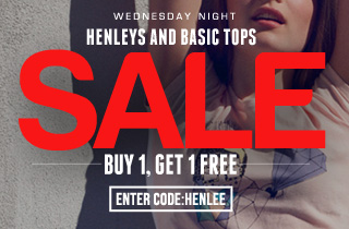 Henley's and Basic Tops