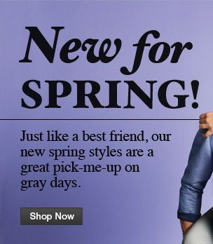 New for Spring!