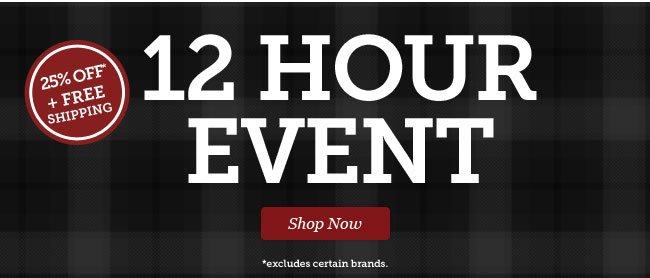 12 Hour Event