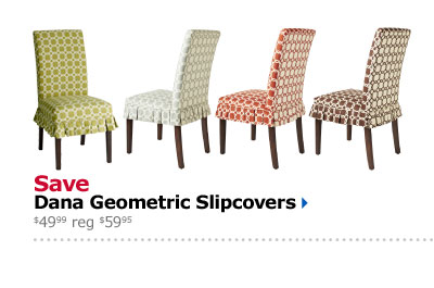 Save Dana Geometric Slipcovers $49.99 reg $59.95