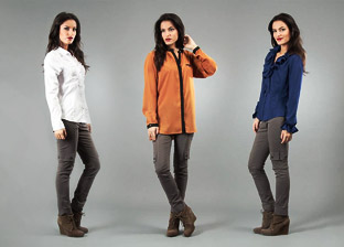 Grandi Women's Shirts, French Design