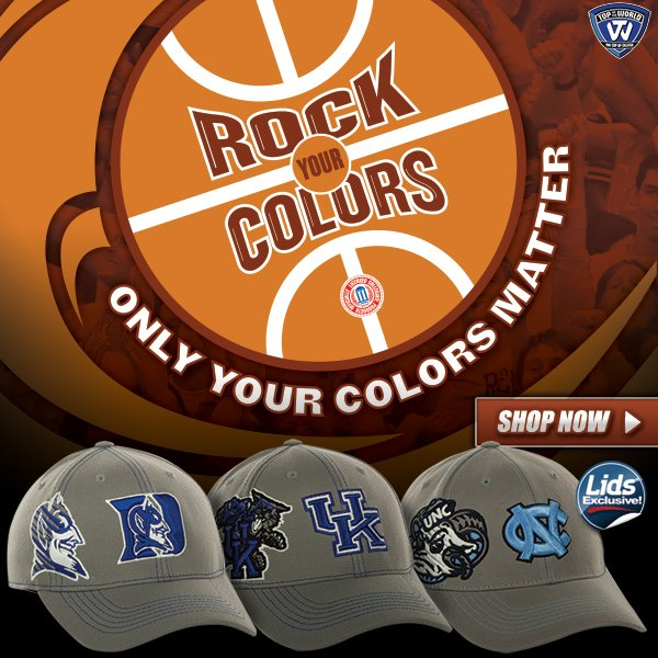 LIDS Exclusive! The NCAA Sketched Gray and White.