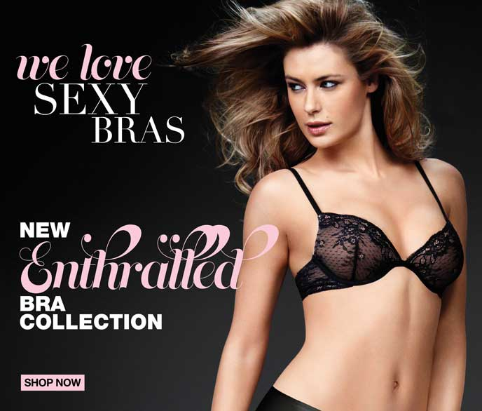 We Love Sexy Bras: New Enthralled Bra Collection