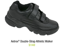 Aetrex® Double-Strap Athletic Walkers