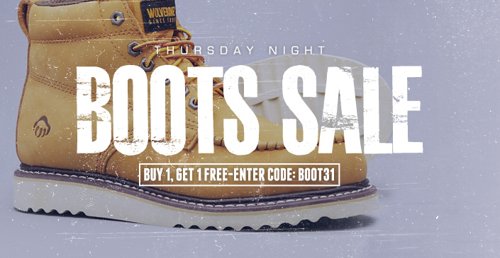 Boots Bogo