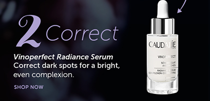2. Correct: Vinoperfect Radiance Serum | Correct dark spots for a bright, even complexion. SHOP NOW