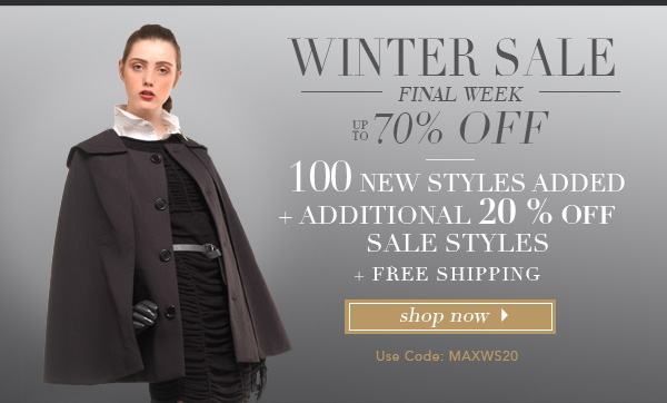 70% off with 20% additional