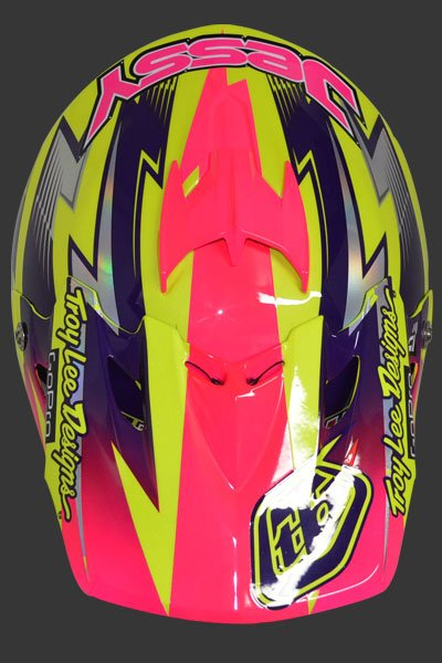 Jessy Nelson's A3 Cancer Awareness Helmets