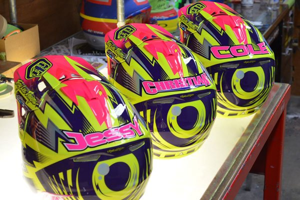 TLD A3 Cancer Awareness Helmets