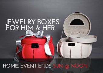 JEWELRY BOXES FOR HIM HER