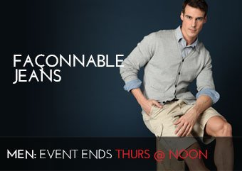 FACONNABLE JEANS