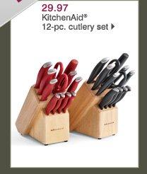 29.97 KitchenAid® 12-pc. cutlery set