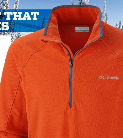 Men's Summit Rush™ Half Zip