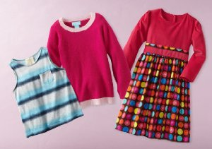 Up to 90% Off: Girl's 2-6X Skirts, Tops & More