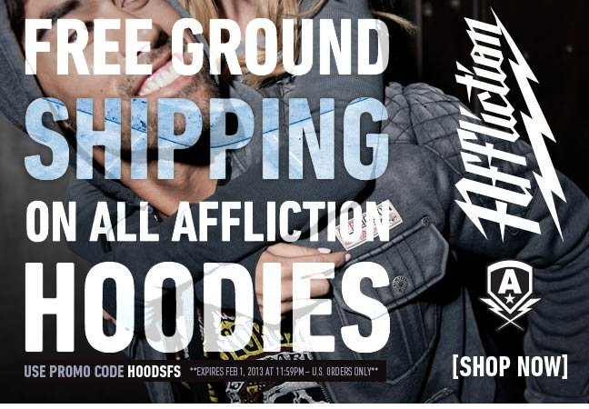 Free Shipping on All Hoods!