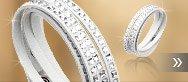 Slake Square Crystal Bracelet