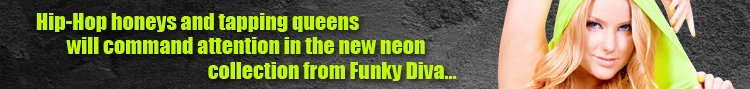 The New Neon Collection from Funky Diva!