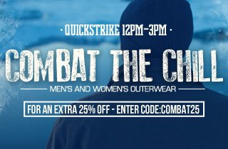 Combat The Chill: Men's and Women's Outerwear