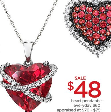 $48 heart pendants