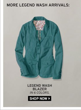 Legend Wash Blazer