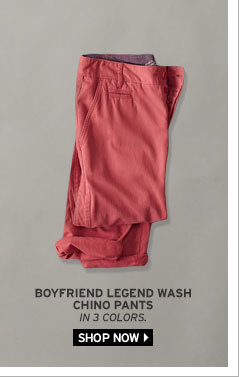 Boyfriend Legend Wash Chino Pants