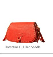 Florentine Full Flap Saddle