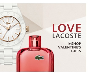 LOVE LACOSTE. SHOP VALENTINE'S GIFTS