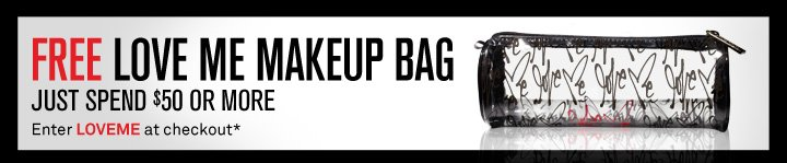 Free Love Me Makeup Bag