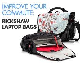 Improve Your Commute: Rickshaw Laptop Bags