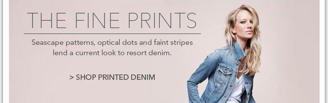Shop Printed Denim