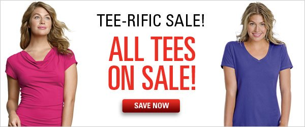 All Tees on Sale!
