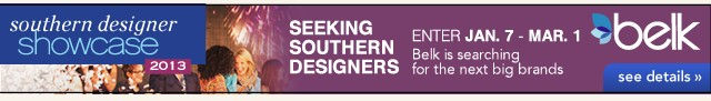 Seeking Southern Designers. See details.