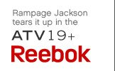 Rampage Jackson tears it up in the ATV19+ | Reebok