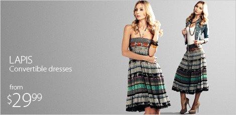 Lapis convertible dresses