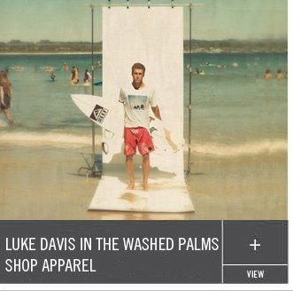 Luke Davis in the Washed Palms Shop Apparel