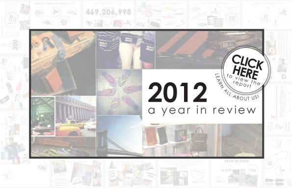 2012 a year in review