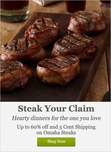 Steak your Claim - Shop Now