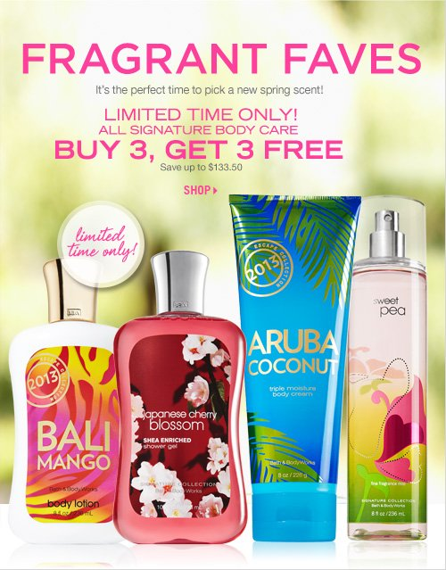 Signature Collection – Buy 3, Get 3 Free!