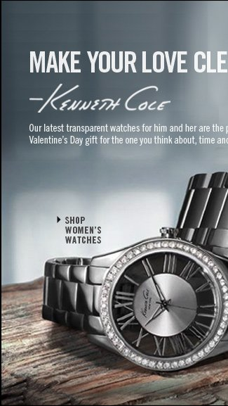 Shop Women's Watches // Our latest transparent watches for him and her are the perfect