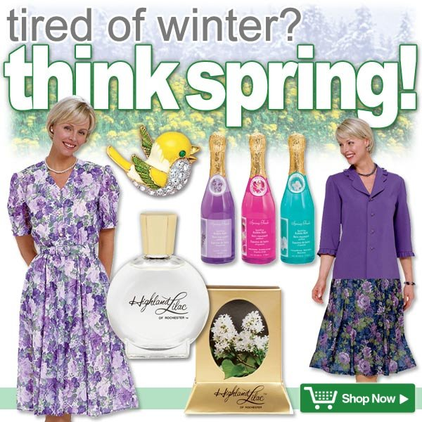 tired of winter? Think Spring!