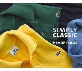 SIMPLY CLASSIC. SHOP POLOS