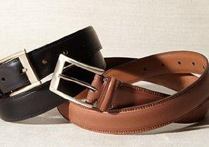 The Basics: Men's Belts