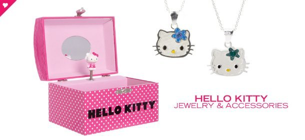 HELLO KITTY JEWELRY & ACCESSORIES, Event Ends February 6, 9:00 AM PT >