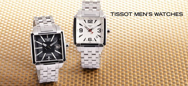 TISSOT WATCHES, Event Ends February 6, 9:00 AM PT >