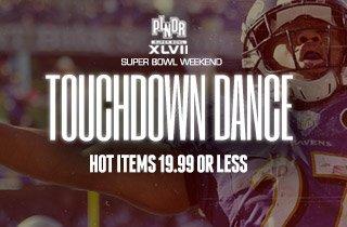 Touchdown Dance: Hot Items 19.99 Or Less