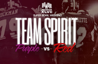 Team Spirit: Purple VS. Red