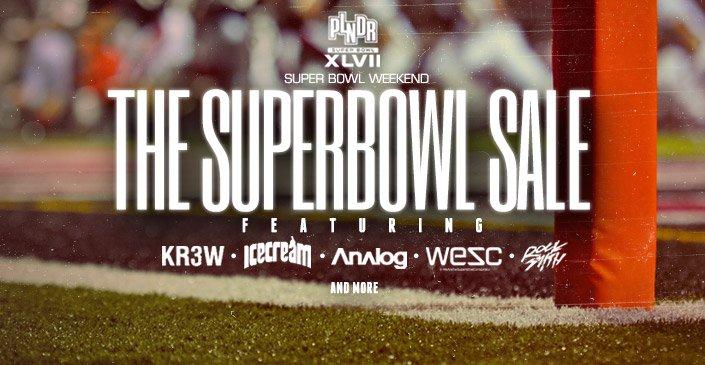 Superbowl Sale