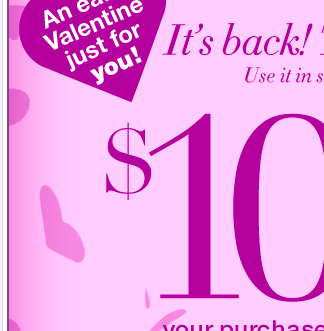 It's back! Today only! $100 off $200 or $50 off $100.  Valid in  stores and online!